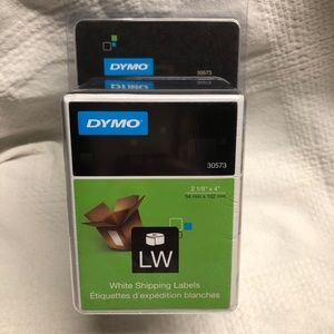 "4"" x 2 1/8"" Dymo 200pc LW white ship labels#30573"